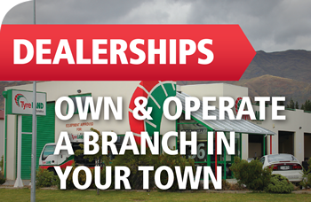 Own and operate a branch in your town