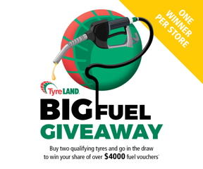 Fuel giveaway promotion